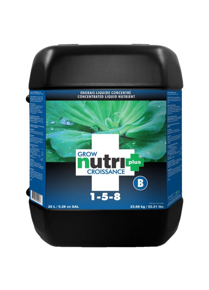 Nutri+ nutrient grow b 20 l