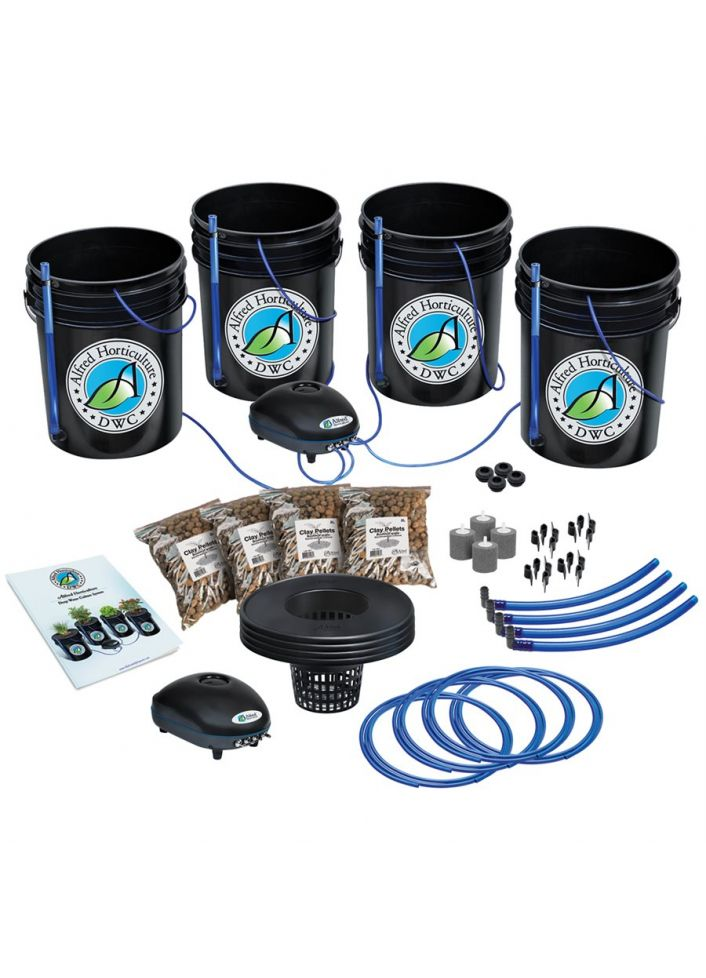 4 plants- 4x4 hydroponic kit by Alfred Horticulture