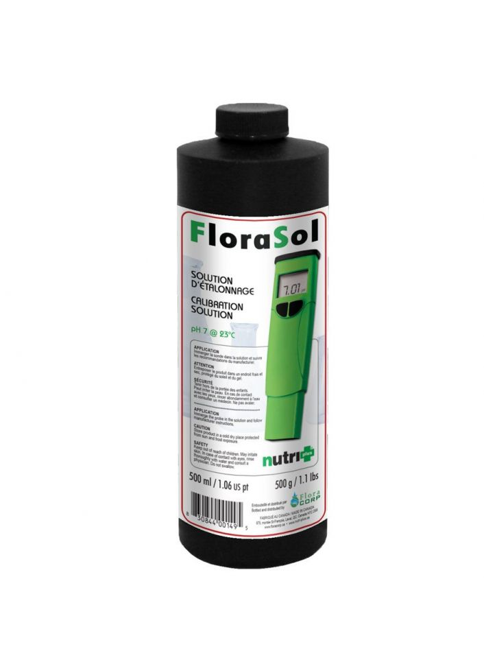 Nutri+ florasol calibration solution ph 7 500ML
