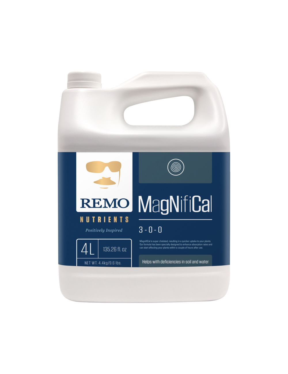 REMO'S MAGNIFICAL 4 LITER