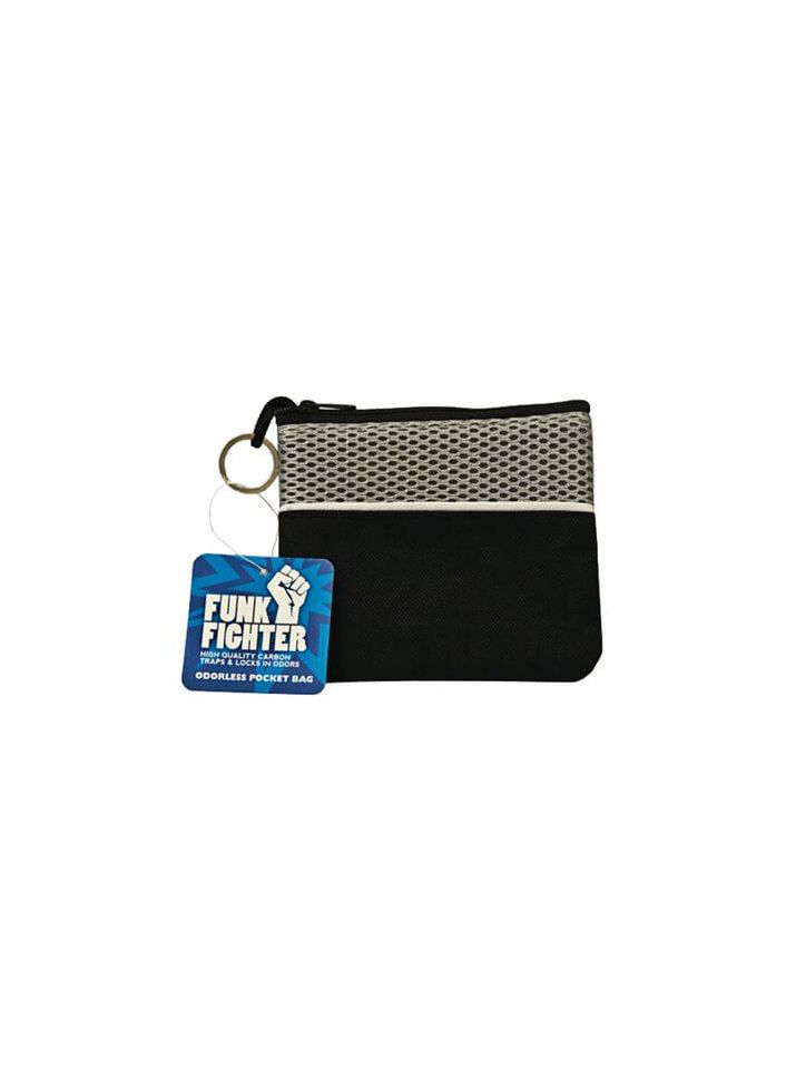 FUNK FIGHTER POCKET BAG, BLACK