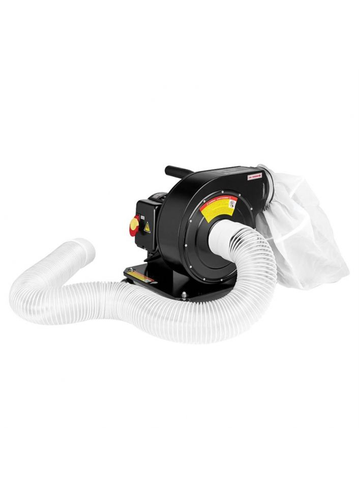 TWISTER T6 VACUUM LEAF COLLECTOR 1HP X 4""